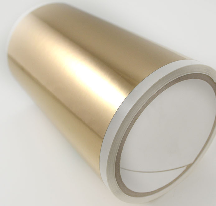 bright gold laser tape